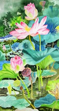 Pink Lotus (long)
