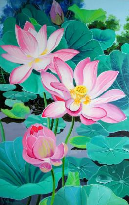 Regular Pink Indian Lotus