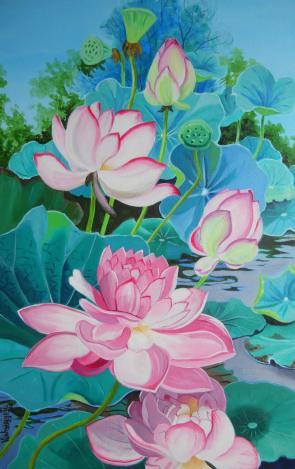 Multipetaled Pink Lotus