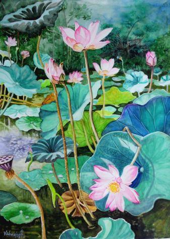 Pink Lotus Pond 2