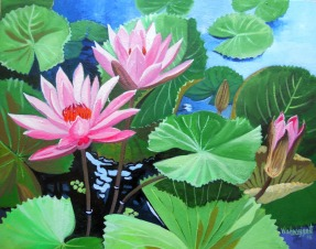 Waterlily Series 1